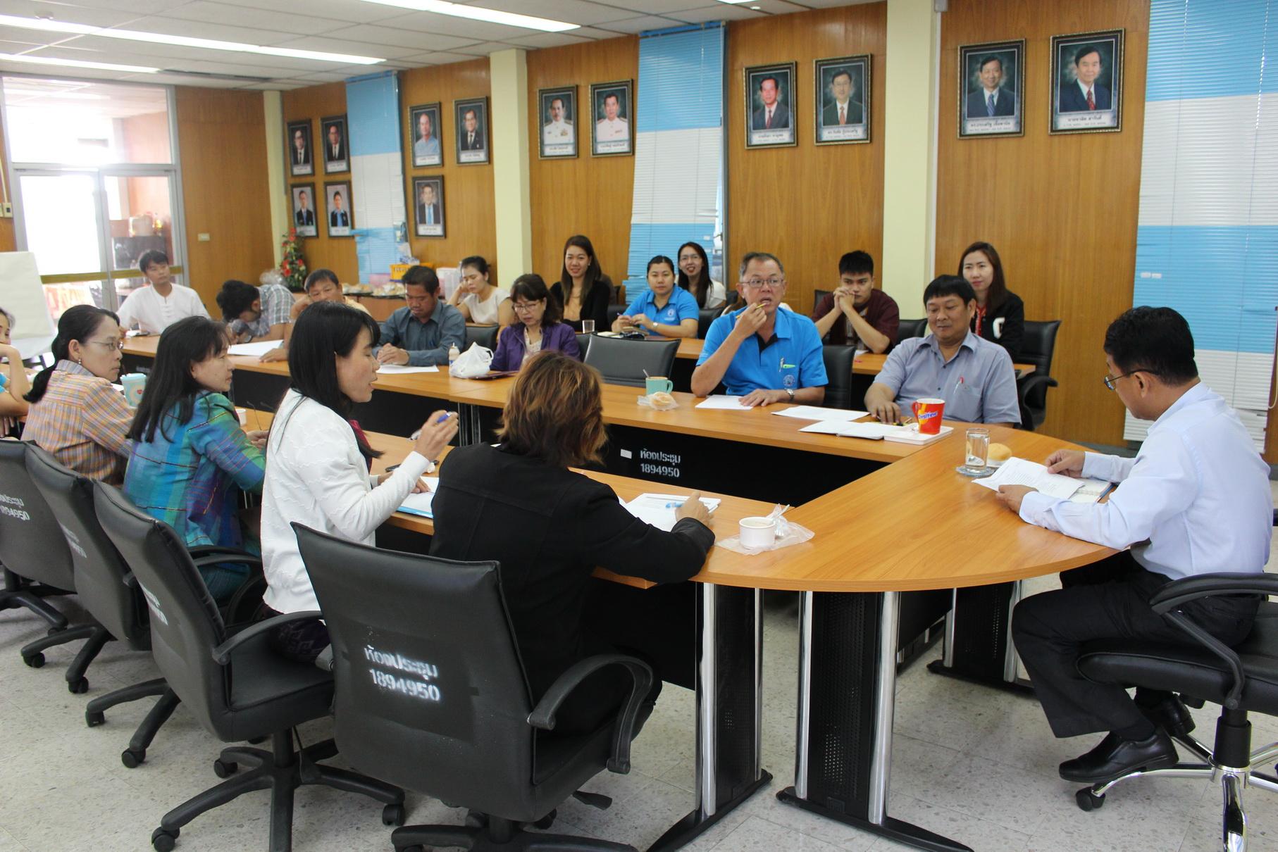 กปภ.ชลบุรี (พ) จัดกิจกรรมMorning Talk ประจำเดือนกุมภาพันธ์ 2561