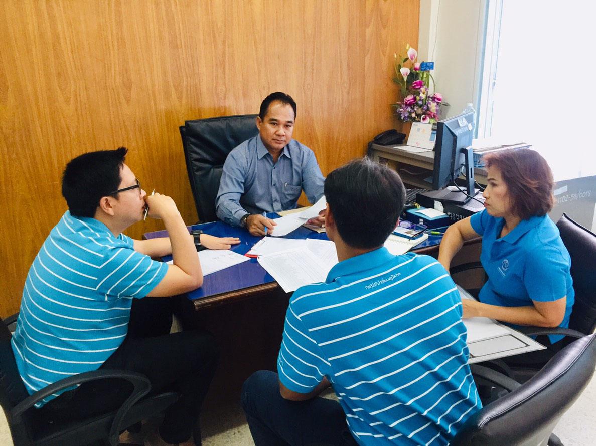 กปภ.สาขาชลบุรี (พ) ร่วมประชุมติดตามความก้าวหน้าโครงการ DSM