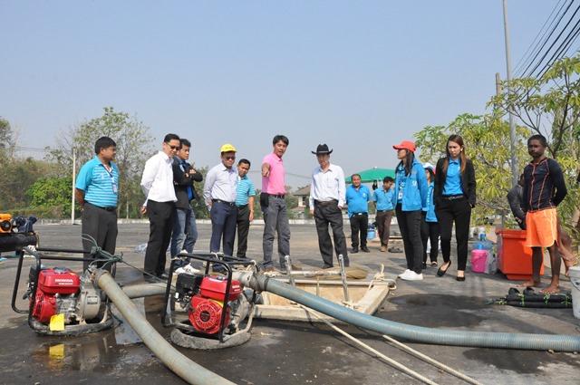 รองผู้ว่าการ (ปฏิบัติการ ๒) ลงพื้นที่โรงผลิตน้ำบ้านโกทา จ.ขอนแก่น ตรวจสอบความคืบน้ำการกำจัดตะกอนในถังน้ำดิบฯ