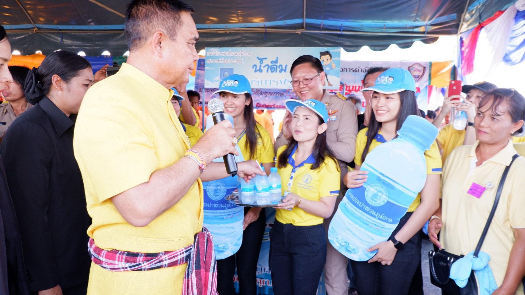 การประปาส่วนภูมิภาค(กปภ.) สาขาอรัญประเทศ เข้าพิธีฉลองความสำเร็จในการก่อสร้างสะพานมิตรภาพไทย – กัมพูชา (บ้านหนองเ