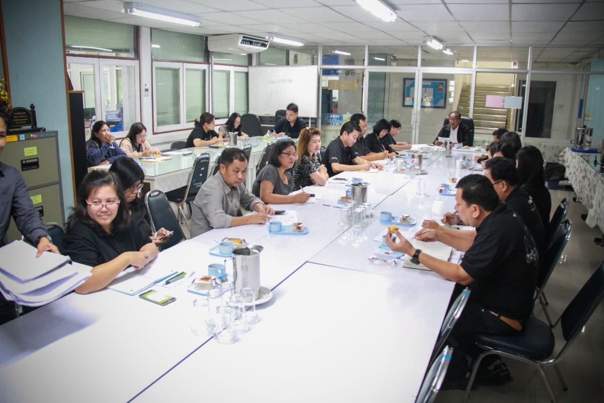 ผู้อำนวยการการประปาส่วนภูมิภาคเขต 2 พร้อมคณะผู้บริหารเข้าร่วมกิจกรรมสภากาแฟ ณ ห้องเอนกประสงค์ กปภ.ข.2