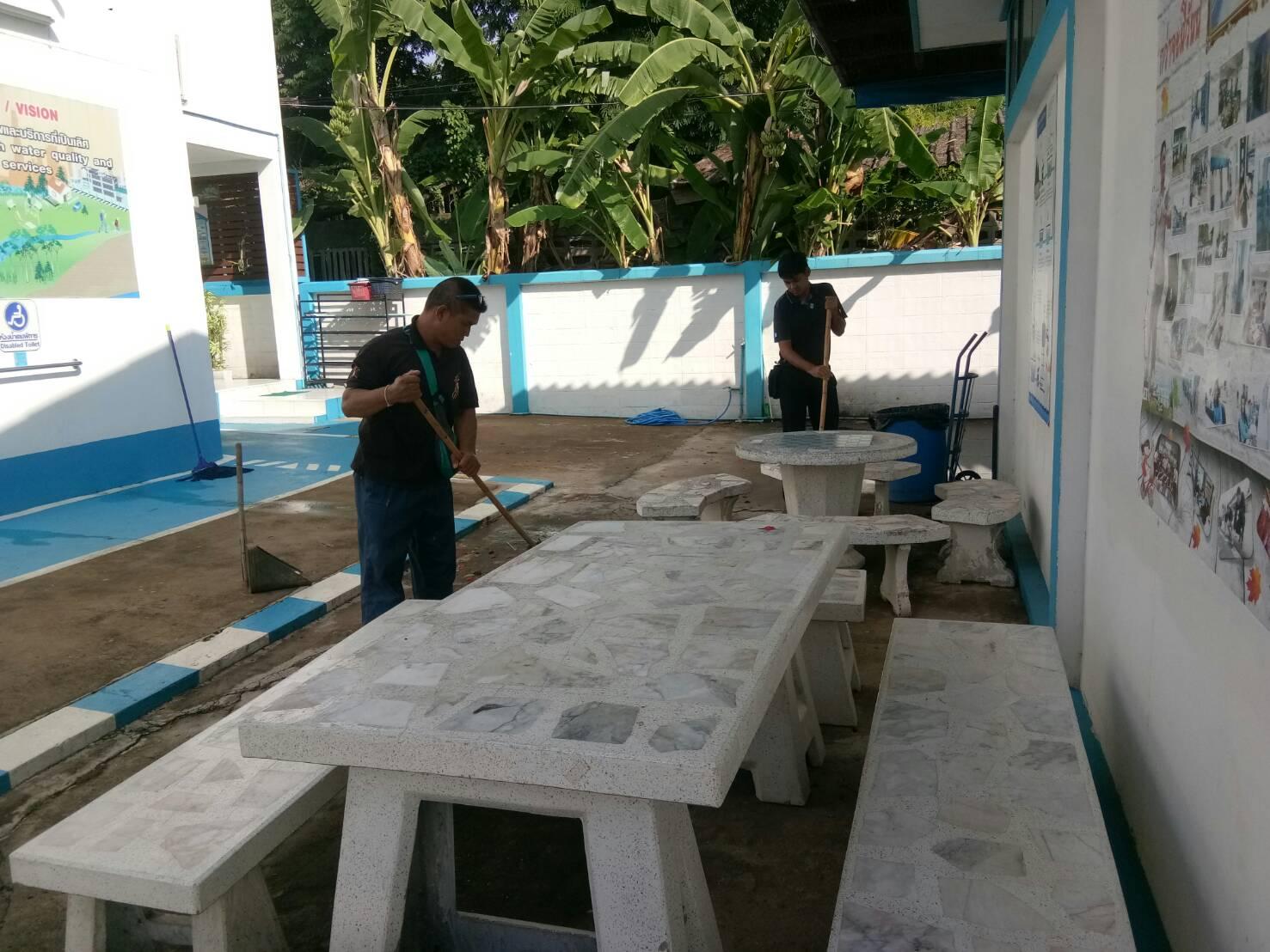 Big Cleaning Day การประปาส่วนภูมิภาค สาขาอรัญประเทศ