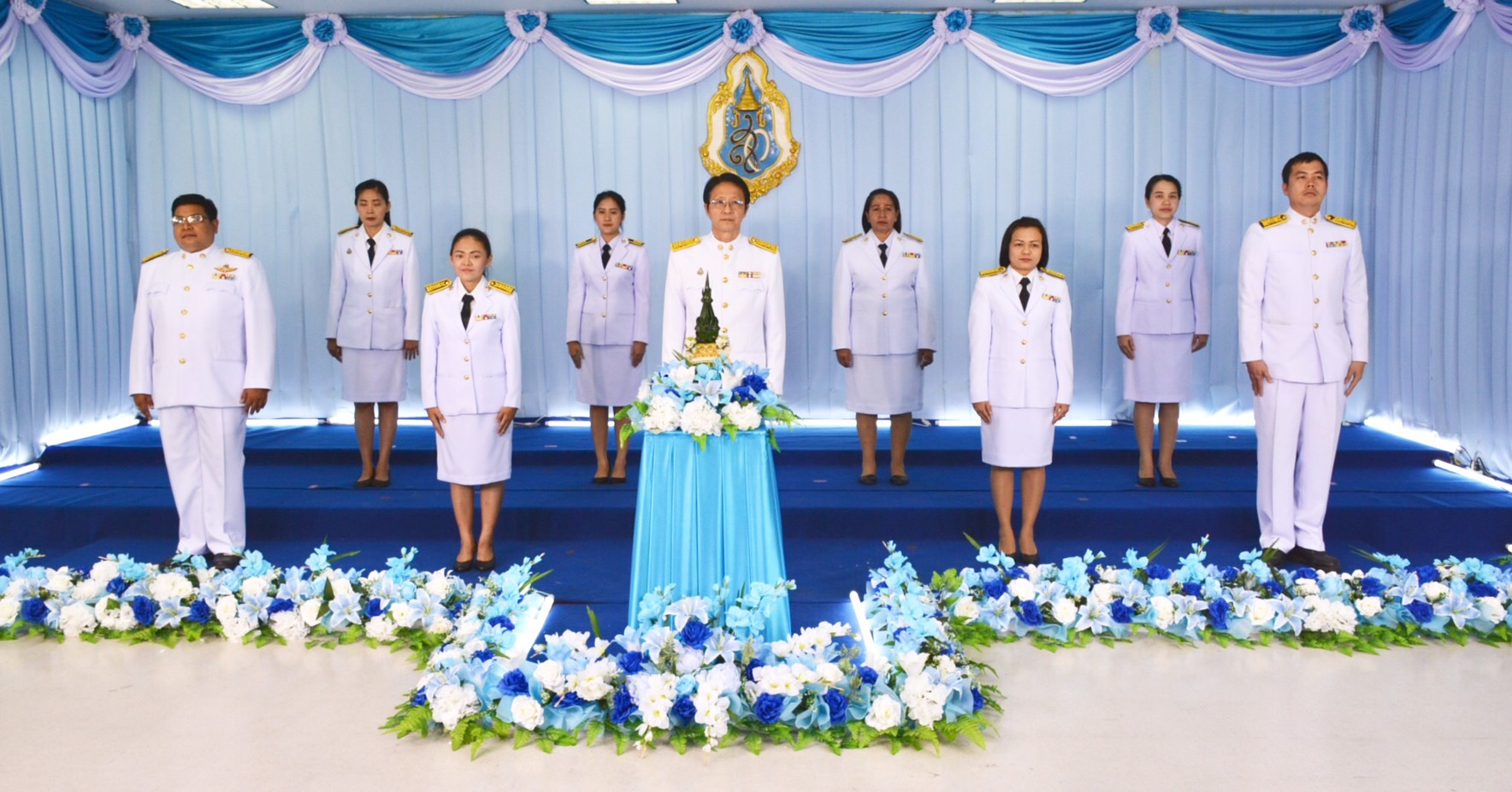 กปภ.สาขารังสิต(พ) เข้าร่วมบันทึกเทปถวายพระพร เนื่องในโอกาสวันเฉลิมพระชนมพรรษา 12 สิงหาคม 2562 สมเด็จพระนางเจ้าสิริกิติ์ พระบรมราชินีนาถ