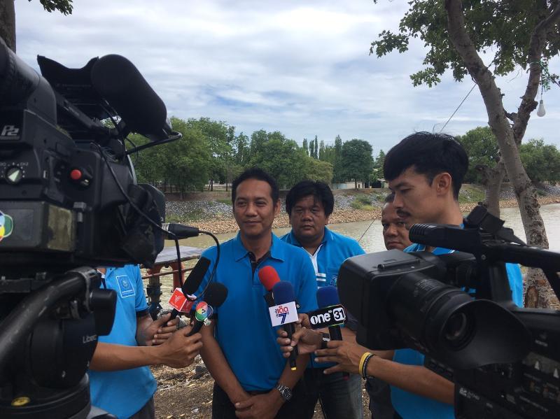 การประปาส่วนภูมิภาคสาขาลพบุรี ร่วมกับหน่วยงานราชการจังหวัดลพบุรี เตรียมแผนรับมือสถานการณ์ภัยแล้ง ประจำปี 2562