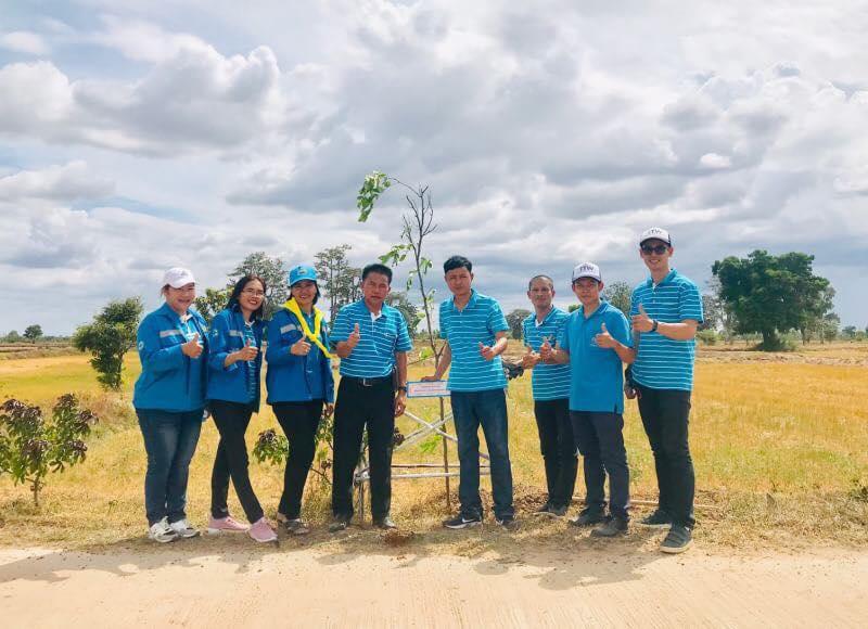 กปภ.สาขาชุมพวง เข้าร่วมพิธีเปิดโครงการปลูกต้นไม้เฉลิมพระเกียรติ สมเด็จพระนางเจ้าสิริกิติ์ พระบรมราชินีนาถ พระบรมราชชนนีพันปีหลวง เนื่องในวันแม่แห่งชาติ 2562