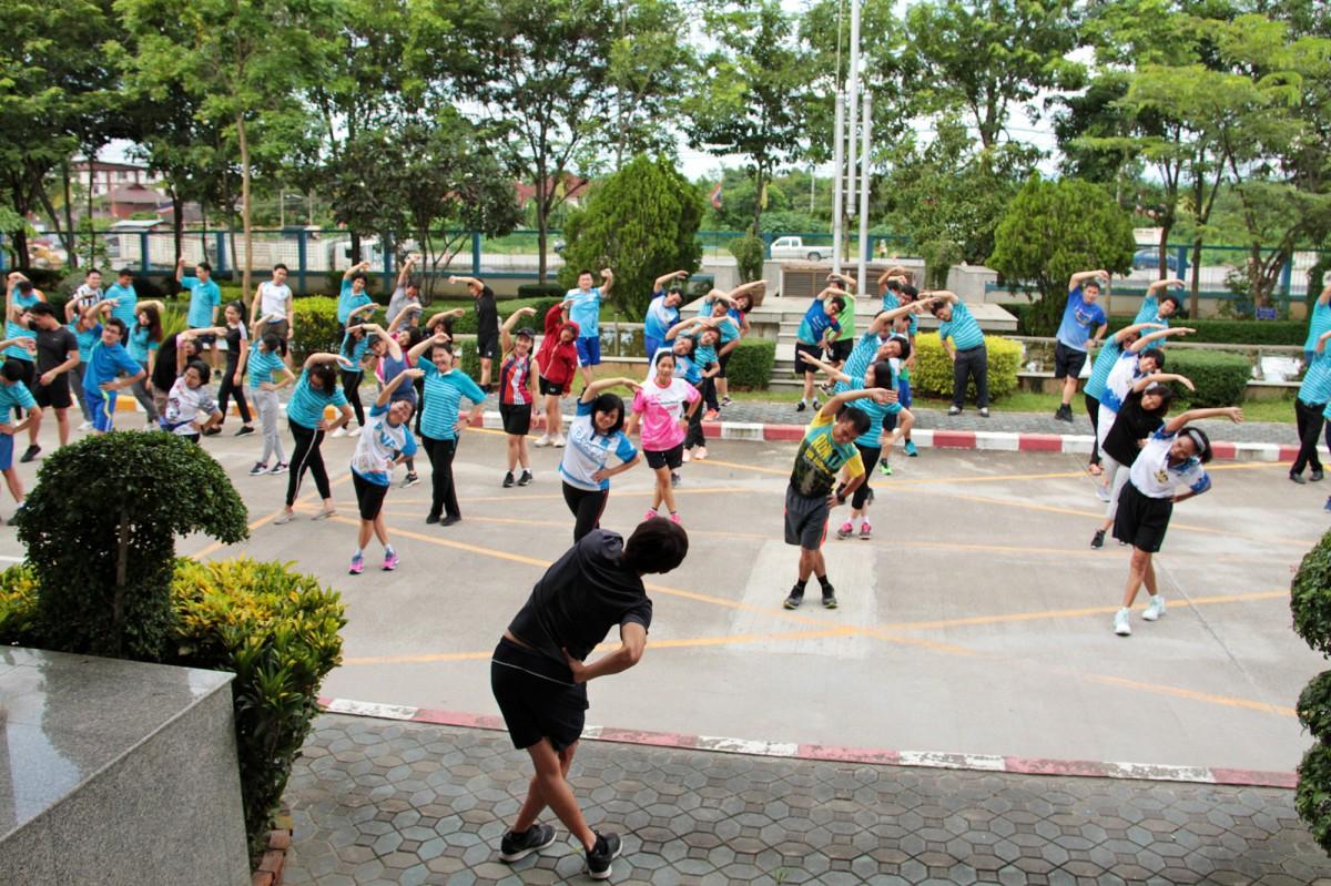 กปภ.ข.9 จัดกิจกรรม วิ่งออกกำลังกายเสริมสร้างสุขภาพ