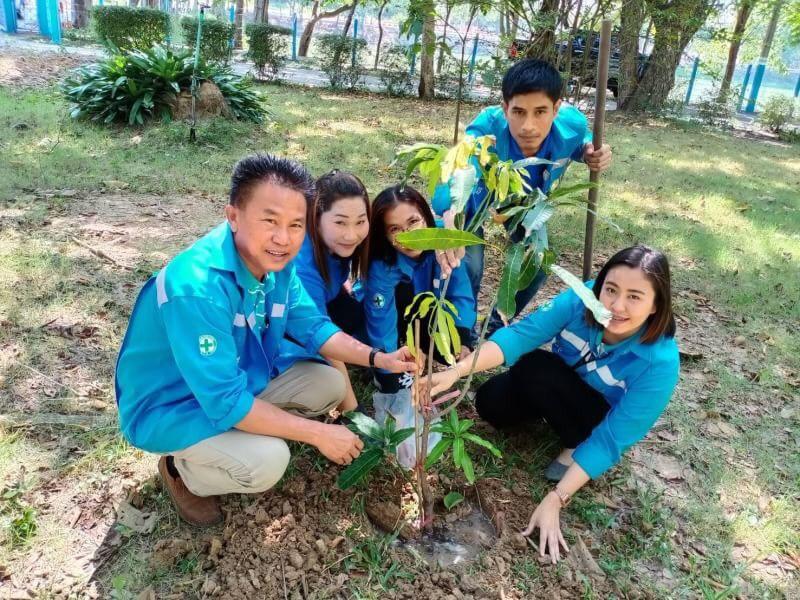 กปภ.สาขาชุมพวง จัดกิจกรรมโครงการวันรักต้นไม้ประจำปีของชาติ พ.ศ.2562