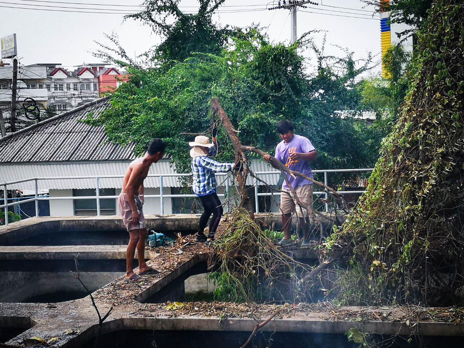 การประปาส่วนภูมิภาคสาขาสิงห์บุรี จัดกิจกรรม Big Cleaning Day