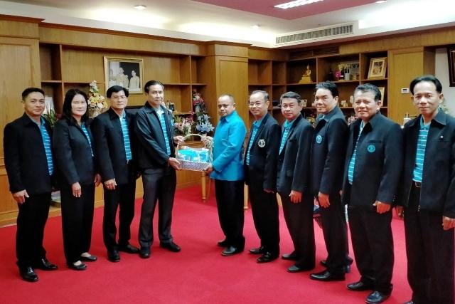 ผู้ช่วยผู้อำนวยการการประปาส่วนภูมิภาคเขต 6 และคณะผู้บริหาร พบผู้ว่าราชการจังหวัดชัยภูมิ สวัสดีปีใหม่ 2563