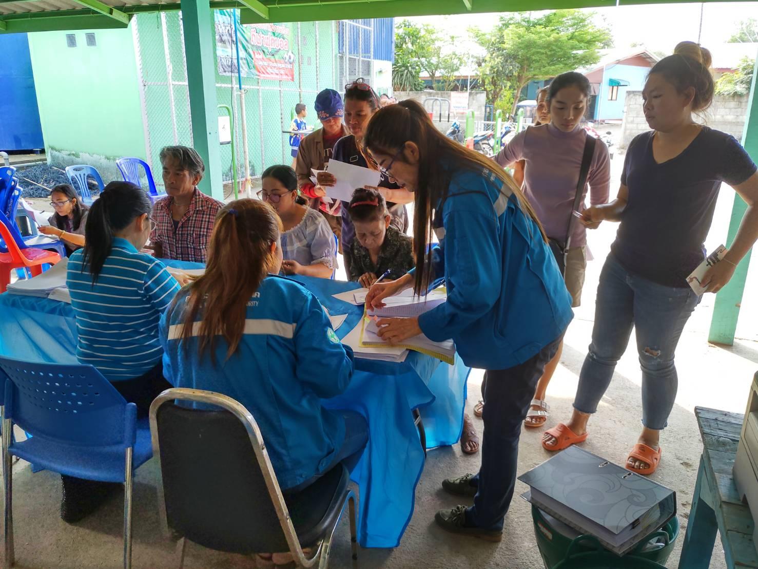 การประปาส่วนภูมิภาคสาขากบินทร์บุรี  ดำเนินกิจกรรมโครงการมุ่งมั่นเพื่อปวงชนเติมใจให้กัน (Home Care)