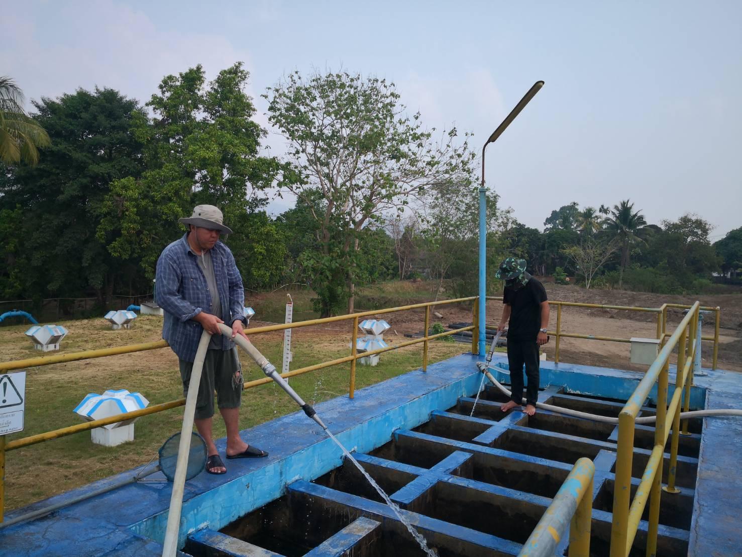 กปภ.สาขาขลุง ปฏิบัติตามแผนงานโครงการจัดการน้ำสะอาด (WSP)