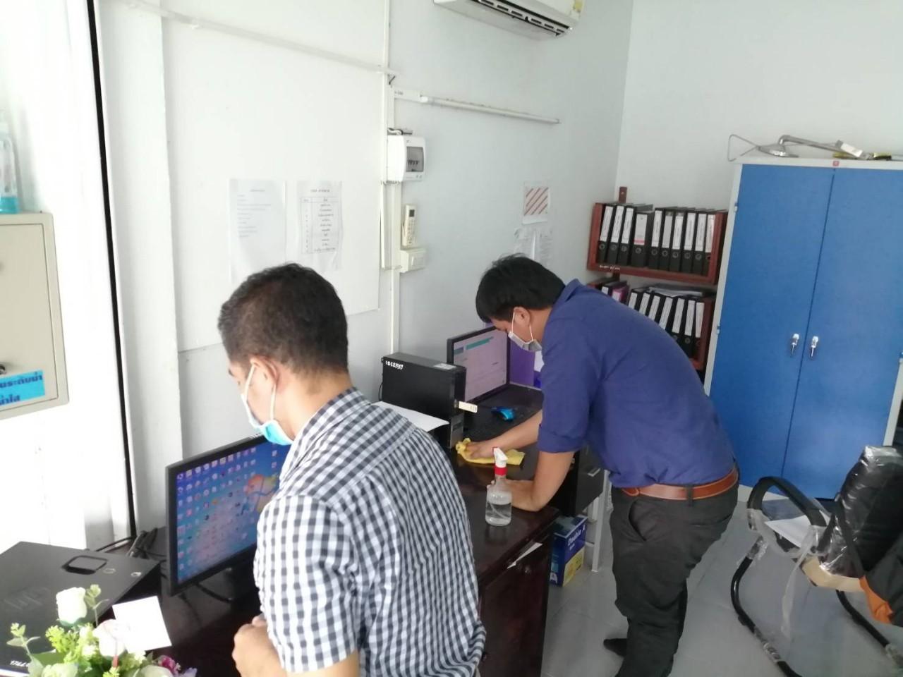 กปภ.สาขาตราด จัดกิจกรรม Big Cleaning Day ครั้งที่ 6/2563 ทำความสะอาดภายในโรงปฏิบัติการสถานีผลิตน้ำปลายคลอง 2เพื่