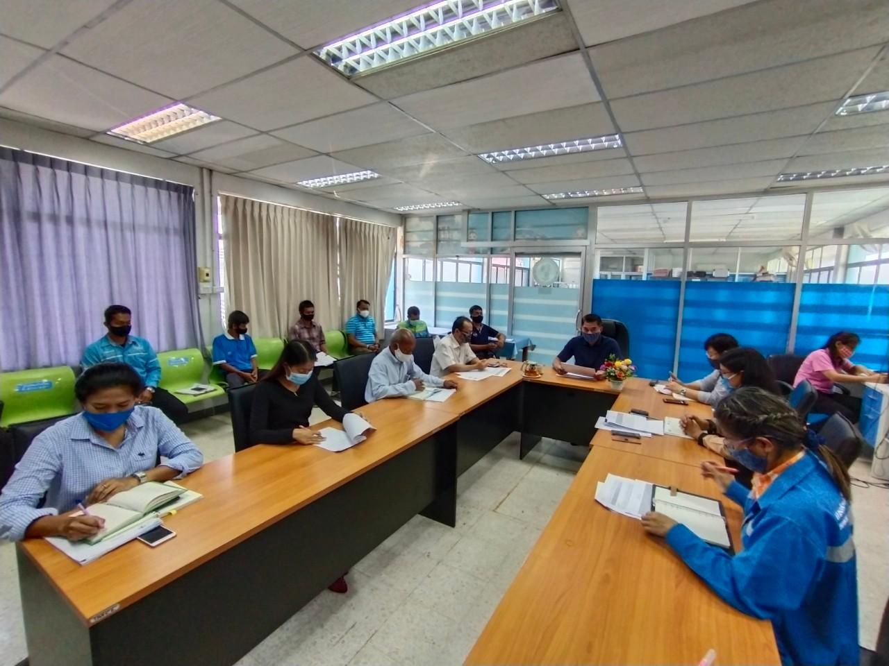 การประปาส่วนภูมิภาคสาขาทุ่งสงจัดกิจกรรมสนทนายามเช้า  (Morning Talk) ประจำเดือน พฤษภาคม 2563