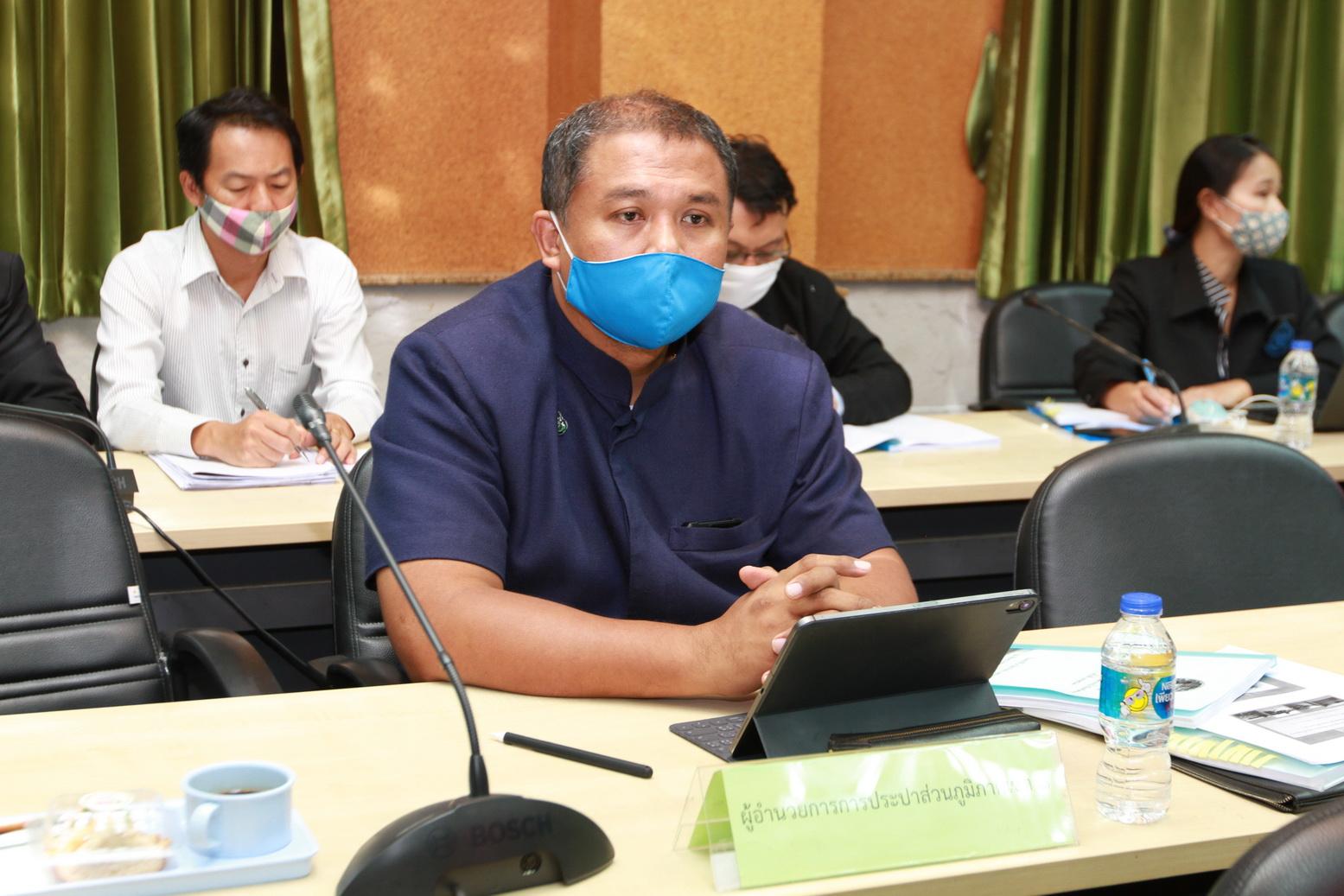 กปภ.เขต ๑ ร่วมการประชุมคณะอนุกรรมการทรัพยากรน้ำ จ.ชลบุรี