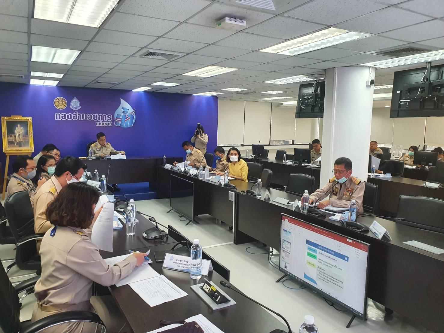 กปภ.เขต ๑ ร่วมประชุมคณะอนุกรรมการขับเคลื่อนโครงการขนาดใหญ่และโครงการสำคัญ ครั้งที่ ๒/๖๓