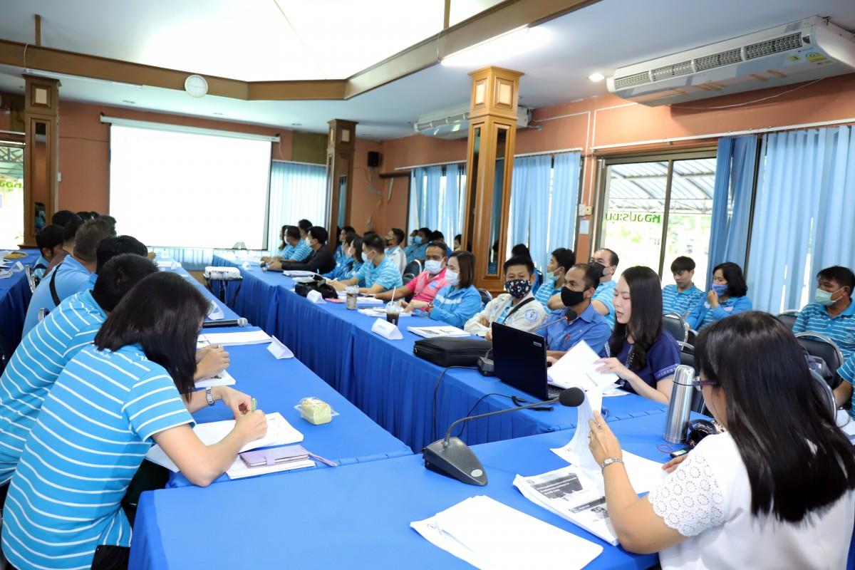 กปภ.ข.10 ประชุมซักซ้อมหลักเกณฑ์การตรวจนับสินทรัพย์ถาวรและวัสดุถาวรแก่ กปภ.สาขาในสังกัด ประจำปี 2563
