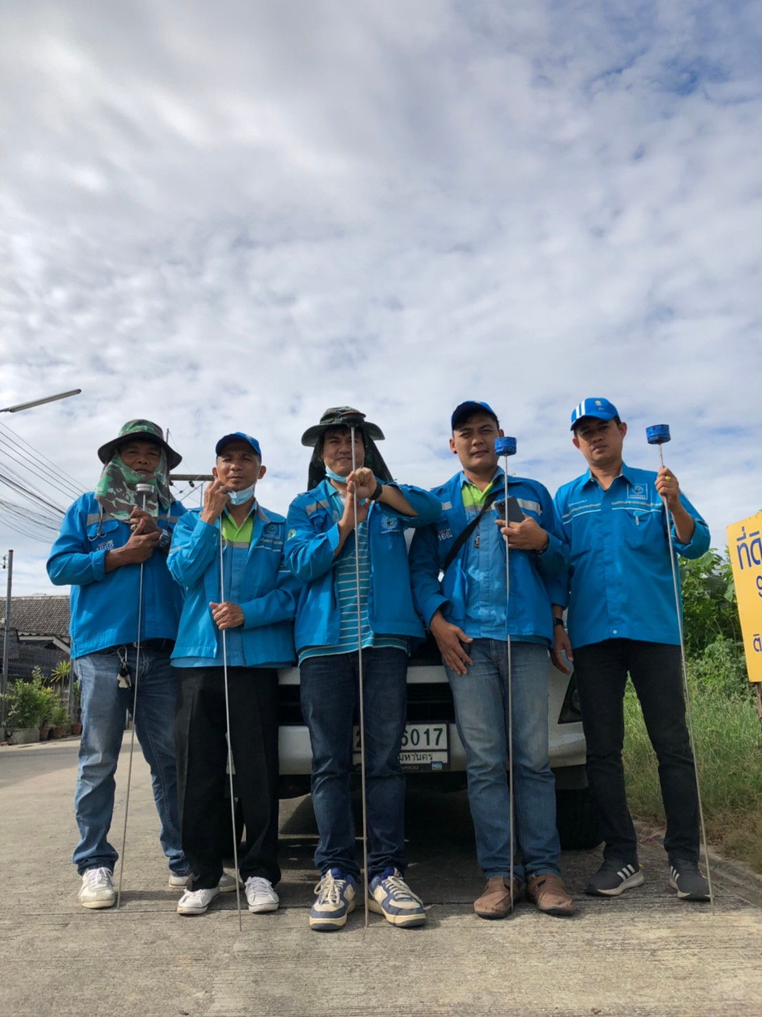 การประปาส่วนภูมิภาคสาขากาญจนบุรี ดำเนินกิจกรรมลดน้ำสูญเสีย ตามแผนการดำเนินงานเชิงรุก เพื่อควบคุมและลดน้ำสูญเสีย
