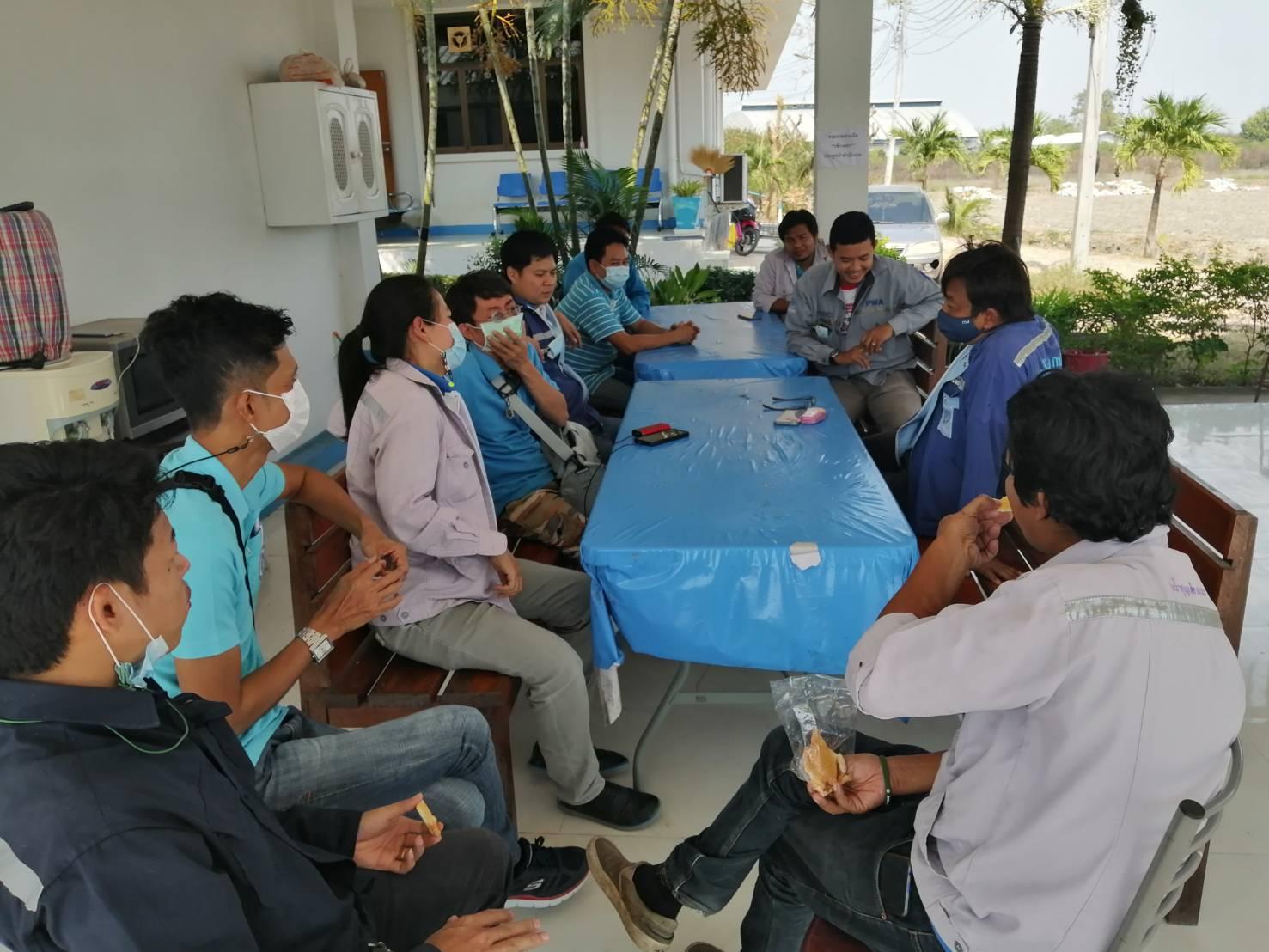 กปภ.สาขาราชบุรี  ออกสำรวจค้นหาท่อแตกรั่วเพื่อลดน้ำสูญเสียเชิงรุก ในพื้นที่อำเภอดำเนินสะดวก