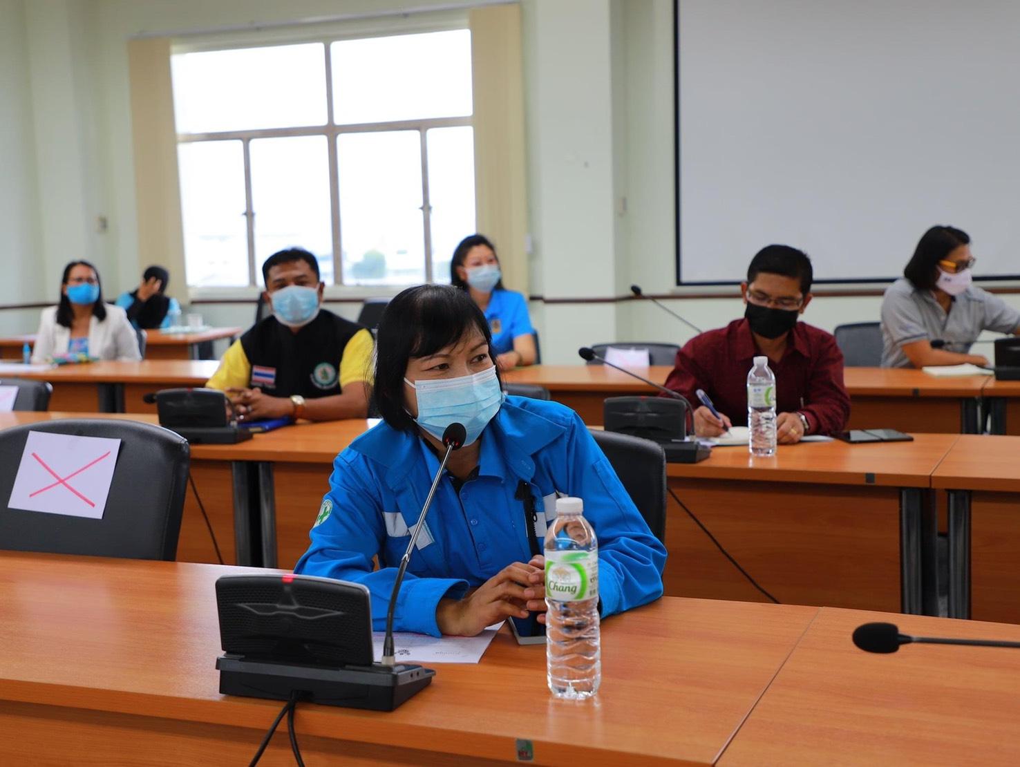 การประปาส่วนภูมิภาคสาขากระบี่ ร่วมประชุมเตรียมความพร้อมในการเปิดโรงพยาบาลสนามแห่งใหม่แห่งที่ 2 ของจังหวัดกระบี่