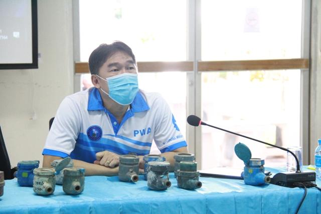 งานมาตรวัดน้ำ กรจ.6 จัดประชุมขั้นตอนการปฏิบัติงานด้านมาตรวัดน้ำ