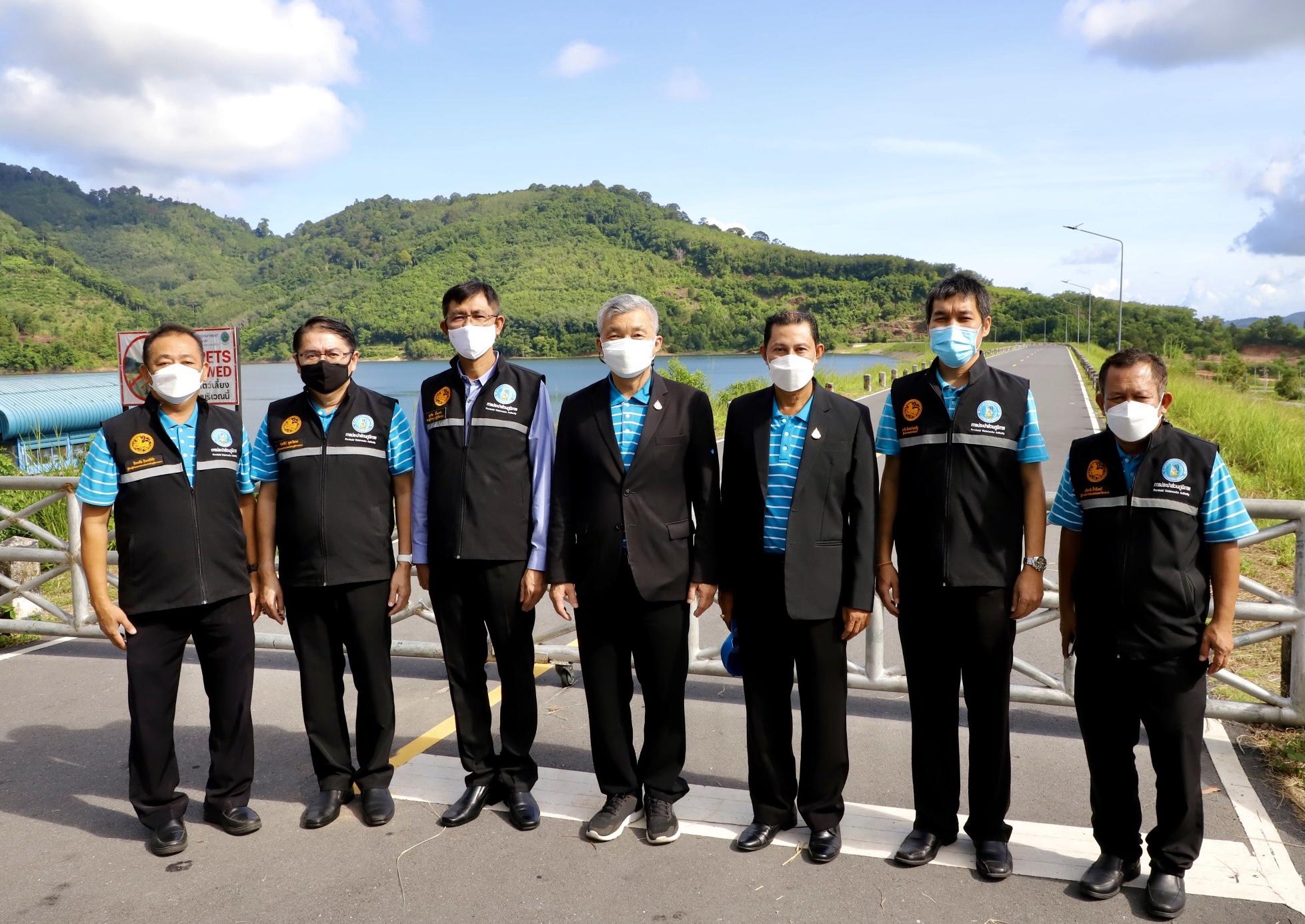 กปภ.ข.4 ต้อนรับผู้ว่าการ กปภ. ลงพื้นที่เตรียมพร้อม Phuket Sandbox