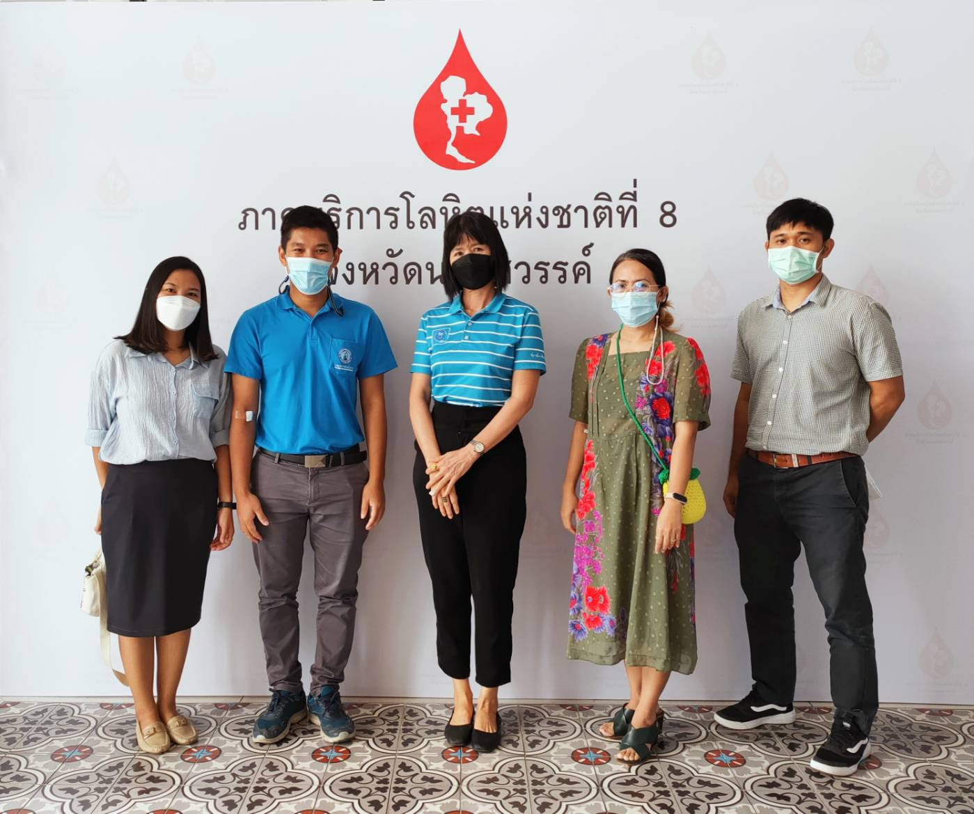 """กปภ.เขต 10 ร่วมโครงการ """"Be The 1 Thailand : ทุกคนเป็นที่หนึ่งได้ ด้วยการบริจาคโลหิต"""" มุ่งแก้ไขปัญหาขาดแคลนโลหิต ช่วงระบาดโควิด-19"""