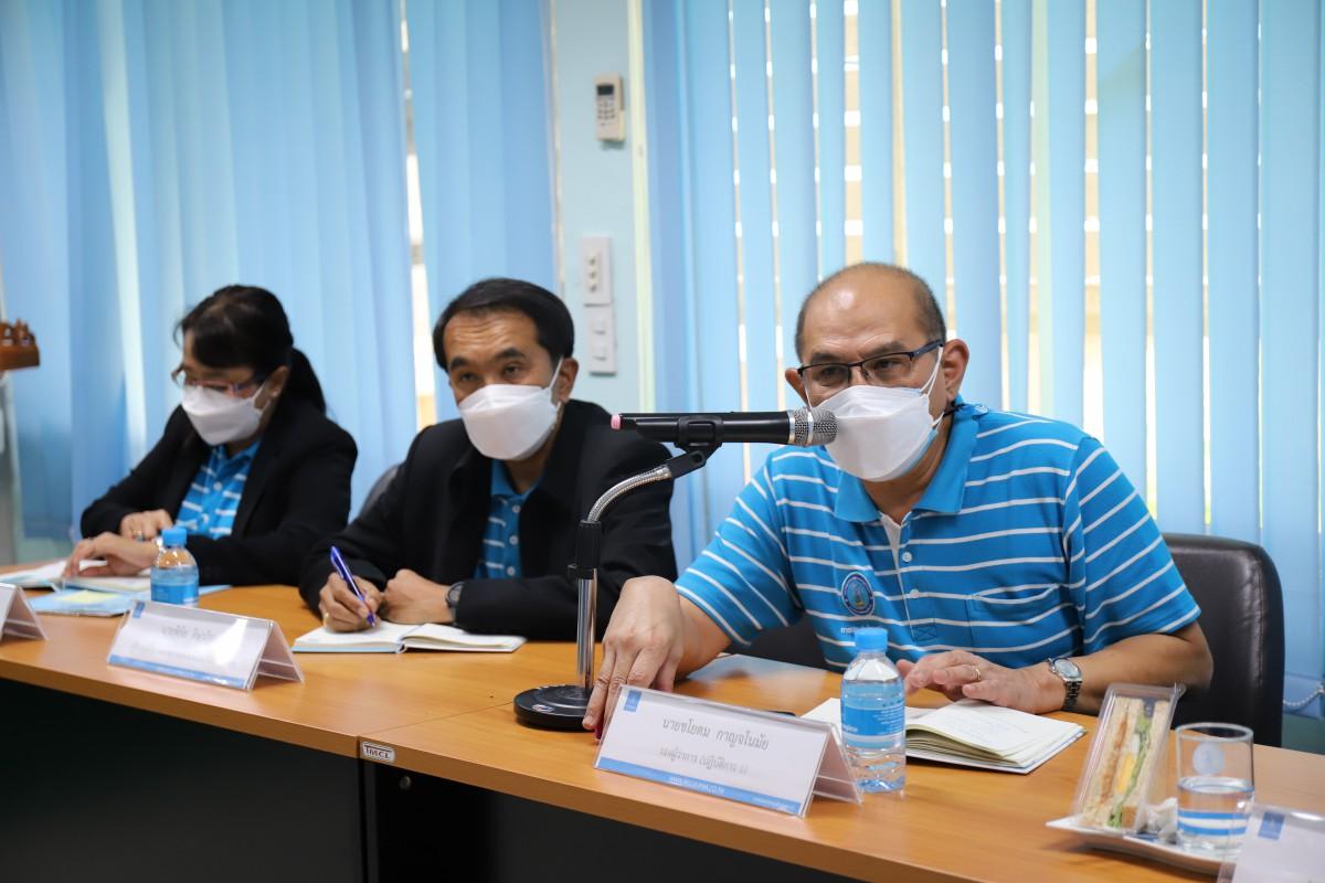 รปก.1 เป็นประธานในการประชุมติดตามผลการดำเนินงาน, ติดตามสถานการณ์อุทกภัยในพื้นที่และมาตรการป้องกันปัญหาภัยแล้งของ กปภ.ข.10 และ กปภ.สาขาในสังกัด