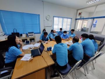 การประปาส่วนภูมิภาคสาขาหนองบัวแดง จัดกิจกรรมโครงการสนทนายามเช้า (Morning Talk) และโครงการจัดการน้ำสะอาด (WSP) เม