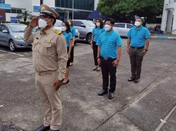 กปภ.สาขาคลองหลวง จัดกิจกรรมวันพระราชทานธงชาติไทย