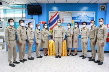 กปภ.สาขาพัทยา (พ) จัดกิจกรรมเนื่องในโอกาสวันพระราชทานธงชาติไทย ๒๘ กันยายน